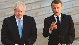 Macron-Boris Johnson