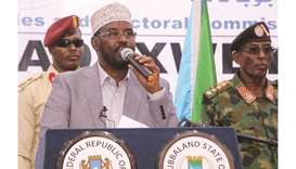 Jubbaland leader, at odds with Mogadishu, wins a new term