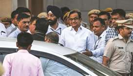 Chidambaram sent to four-day CBI custody