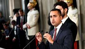 Italy's M5S, PD make progress on coalition