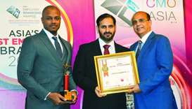 UDC was presented with the 'Best Employer Brand Award' and the award for 'Best HR Strategy in Line w