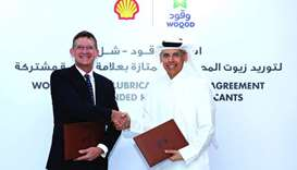 Al-Muhannadi and Faulkner conclude the deal between Woqod and Shell Lubricants