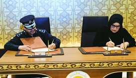 Community Policing dept, QFSW sign co-operation pact