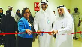 Officials of Sidra Medicine at the inauguration of the state-of-the-art sleep laboratory.