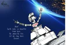 Spacecraft carrying Russian humanoid robot docks at ISS