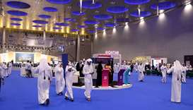 The third edition of Najah Qatari festival at DECC