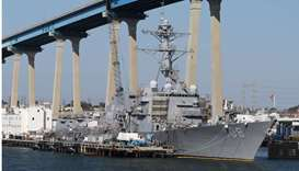 USS Wayne E. Meyer (DDG-108) Arleigh Burke-class Destroyer