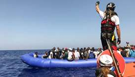 Stranded migrants at sea an 'unacceptable situation' says rescuer