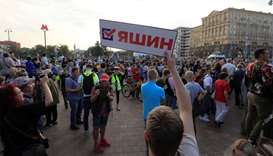 Thousands of Russians rally to demand free elections