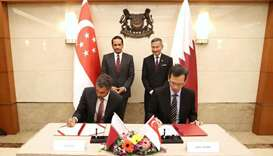 QFZA signs MoUs with leading entities in Singapore