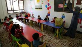 QRCS provides shelter for Syrian families with orphans in Turkey