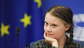 Climate activist Greta Thunberg sets off for global climate events