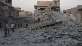 Air strikes stop in Syria's Idlib after truce announced