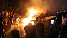 Nineteen dead in explosion due to Cairo car crash