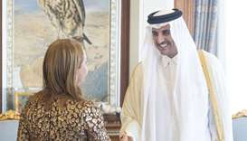 Amir meets ambassador of the Netherlands