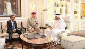 FM meets UK defence senior adviser