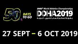 50 days to go for the biggest sporting extravaganza — Doha 2019