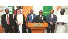 Ivory Coast ambassador highlights ties with Qatar Official opening of the Ivory Coast embassy in Doha was held on Wednesday