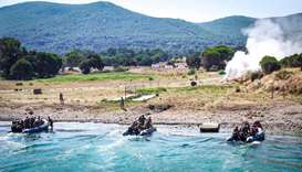 Armed forces conclude exercise in Turkey