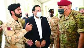 Commander of Lebanese Armed Forces visits Qatar's field hospital in Beirut