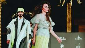 Thousands tune in to Qatar's first virtual fashion show