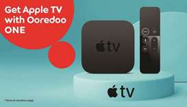 Ooredoo customers can get Apple TV 4K set-top box