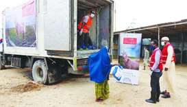 QRCS delivers Adahi food aid to 125,000 beneficiaries