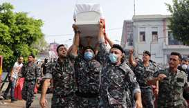 Beirut buries more of its dead as world mobilises