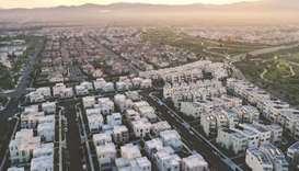 A real estate development at Irvine, California. While landlords at the priciest, amenity-rich apart
