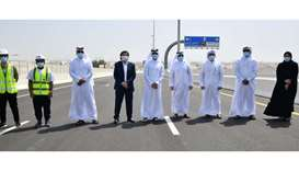 Ashghal opens Duhali-Al Gharrafa bridge, parts of traffic signal