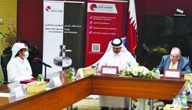 Qatar Chamber, Doha Institute for Graduate Studies sign agreement on training