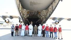 Two more cargo aircraft carrying medical aid arrive in Beirut