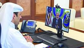 Al-Kaabi meets US Secretary of Energy