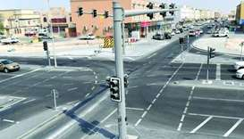 Makeover completed on three major commercial streets