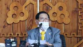 Lee Man-hee, 88, is the head of the Shincheonji Church of Jesus, which is often condemned as a cult.