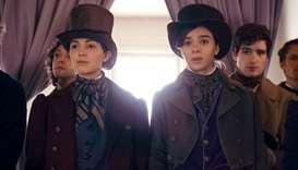 RECALL: Ella Hunt and Hailee Steinfeld in Dickinson, which reconsiders the life of Emily Dickinson.
