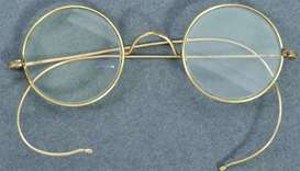 Gandhi's iconic glasses sell for $340,000