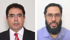 Dr Mounir Hamdi and Dr Tanvir Alam