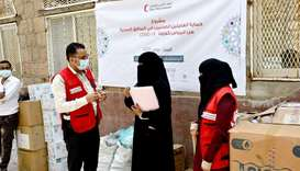 QRCS extends medical support to Al-Jomhouri Hospital in Taiz