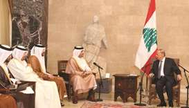Qatar to stand by Lebanese people: FM