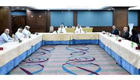 QC panel discusses activating electronic link between Qatar Chamber and MoCI