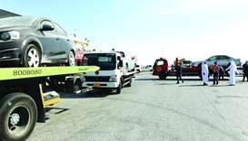 Drive to remove abandoned cars begins in Al Khor and Thakhira