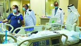 Top officials tour Sidra Medicine