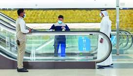 Doha Metro back on track with Covid safety precautions on board