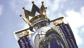 English Premier League trophy.