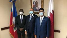Qatar medical aid for Haiti to tackle virus