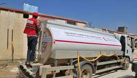 QRCS provides clean drinking water for IDPs in northern Syria