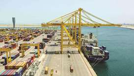 Qatar witnessed about 8% growth year-on-year in the number of ships calling on its Hamad, Doha and A