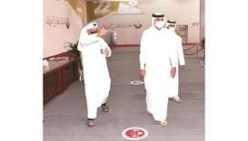 HE the Prime Minister was accompanied on the visit by a number of officials of the supervisory commi