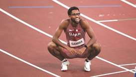 The World bronze medallist ran a 47.47 seconds in the men's 400m hurdles semi-final, to secure his p